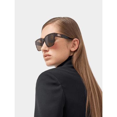 Balenciaga Sonnenbrille im Schildpatt-Look