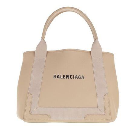 Balenciaga  Tote - Cabas Small Tote Bag Leather - in beige - für Damen
