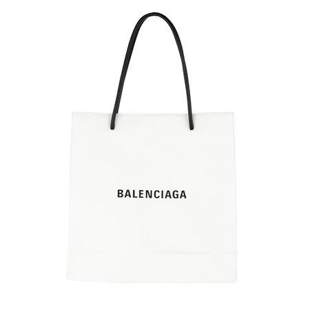 Balenciaga  Tote  -  Shopping Bag Leather White  - in weiß  -  Tote für Damen weiss