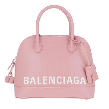 Balenciaga  Tote  -  Ville S Top Handle Bag Dragee White  - in rosa  -  Tote für Damen rot
