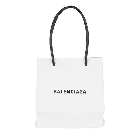 Balenciaga  Tote - XS Shopping Bag - in weiß - für Damen grau