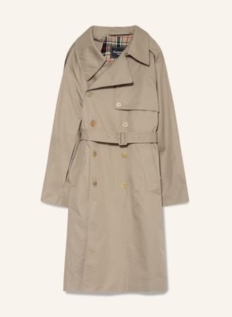 Balenciaga  Trenchcoat beige
