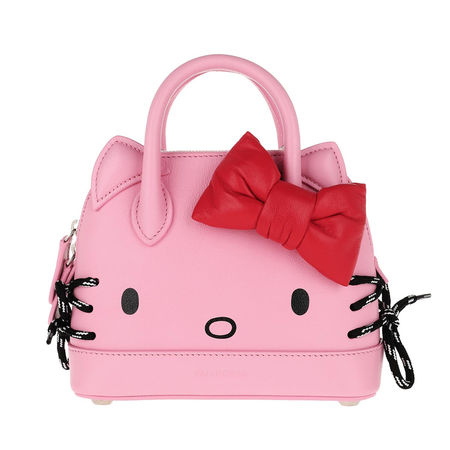 Balenciaga  Umhängetasche  -  Kitty XXS Top Handle Bag Pink  - in pink  -  Umhängetasche für Damen rosa