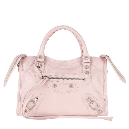 Balenciaga  Umhängetasche  -  Mini Classic City Shoulder Bag Leather Light Rose  - in rosa  -  Umhängetasche für Damen braun