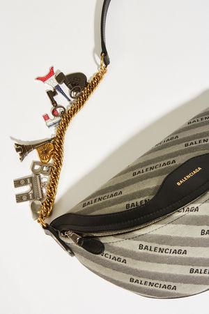 Balenciaga  - Umhängetasche 'Souvenir Bag XS' Grau grau