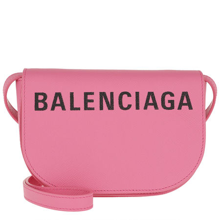 Balenciaga  Umhängetasche  -  Ville Day Bag XS Bougainvillier  - in rosa  -  Umhängetasche für Damen rosa