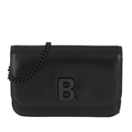 Balenciaga  Umhängetasche  -  Wallet On Chain Black  - in schwarz  -  Umhängetasche für Damen schwarz