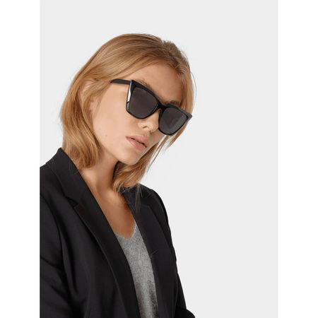 Balenciaga Unisex Cat Eye Sonnenbrille grau