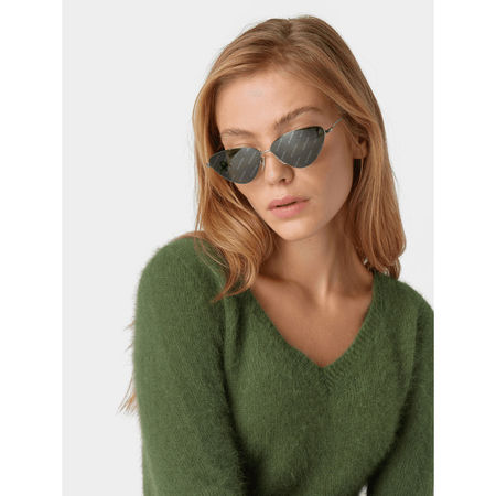 Balenciaga Unisex Sonnenbrille grau