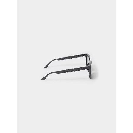 Balenciaga Unisex Sonnenbrille mit Bügel-Details grau