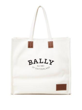 Bally  - Shopper 'Crystalia' Crème weiss
