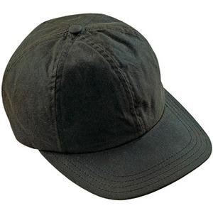 Barbour Baseballcap Wax Sports grau
