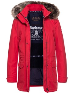 Barbour Funktionsjacke Stronsay rot