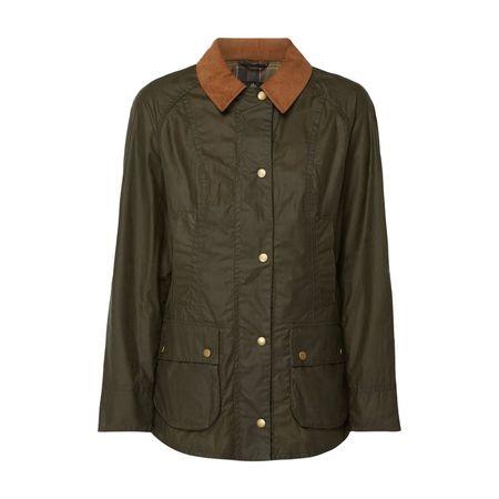 Barbour Jacke aus gewachster Baumwolle braun