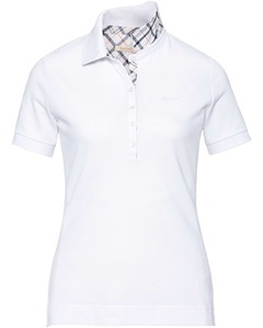 Barbour Polo Prudhoe weiss