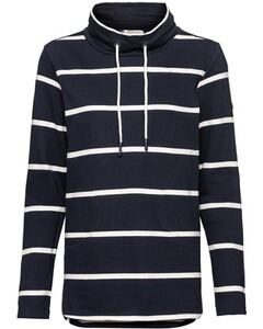 Barbour Pullover Coastal Overlayer schwarz
