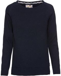 Barbour Rundhals-Pullover Pendle schwarz