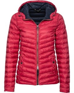 Barbour Steppjacke Leith pink