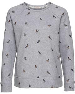 Barbour Sweatshirt Bowfell grau