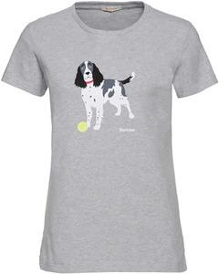 Barbour T-Shirt Bellflower grau