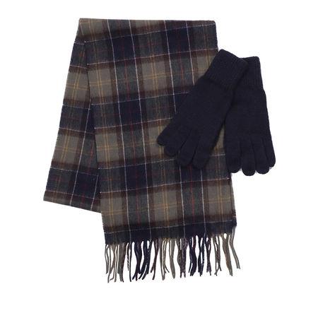 Barbour  Tücher & Schals - Wool Tartan Glove Scarf Set - in bunt - für Damen schwarz