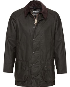 Barbour Wachsjacke Beaufort grau
