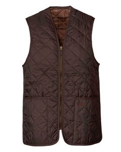 Barbour  Weste Quilted braun