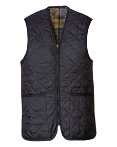 Barbour  Weste Quilted grau