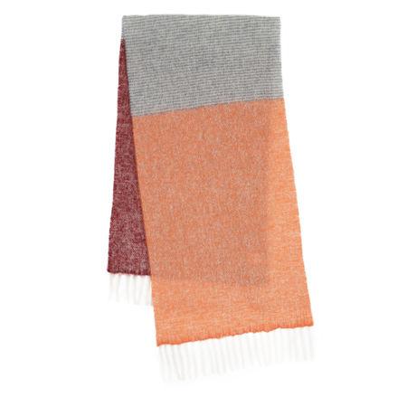 becksöndergaard  Accessoire  -  Ingrid Scarf Dusty Orange  - in orange  -  Accessoire für Damen orange