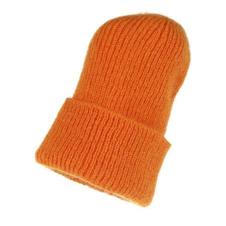 becksöndergaard  Caps  -  Jadia Beanie Golden Yellow  - in gelbgold  -  Caps für Damen orange