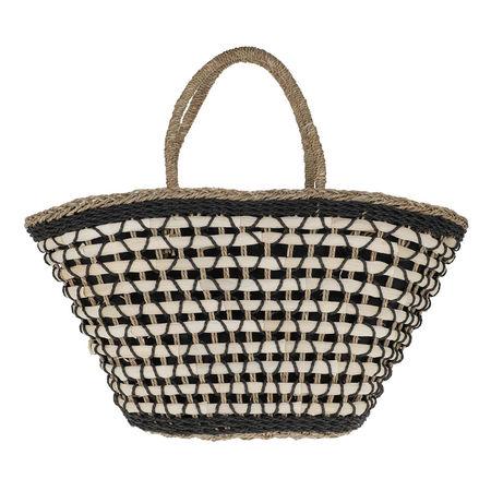 becksöndergaard  Shopper  -  Basia Bag Black  - in beige  -  Shopper für Damen schwarz