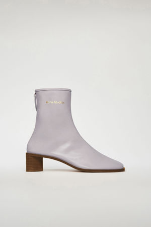 Acne Studios  FN-WN-SHOE000355 Old pink/beige  Branded leather boots grau
