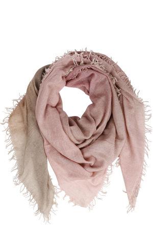 Faliero Sarti  Tuch mit Cashmere und Seide Rosa/Beige Damen Farbe: gemustert verfügbare Größe: One Size braun