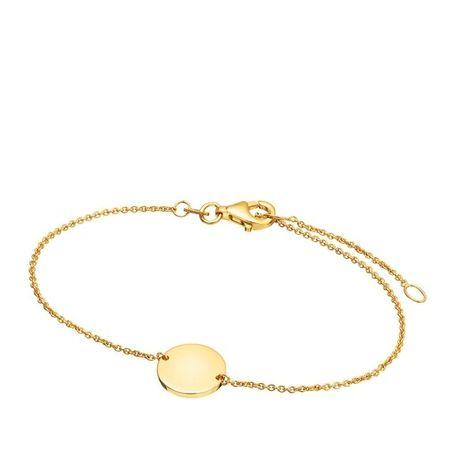 Beloro  Armband - Bracelet - in gold - für Damen