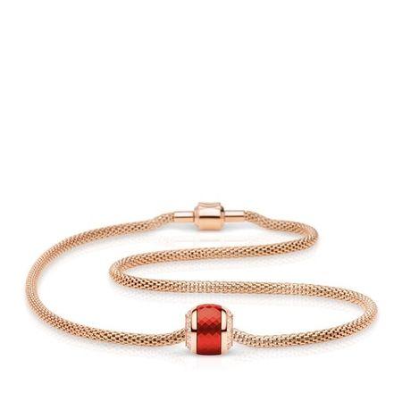 Bering  Halskette - Women Kette Stainless Steel - in gold - für Damen