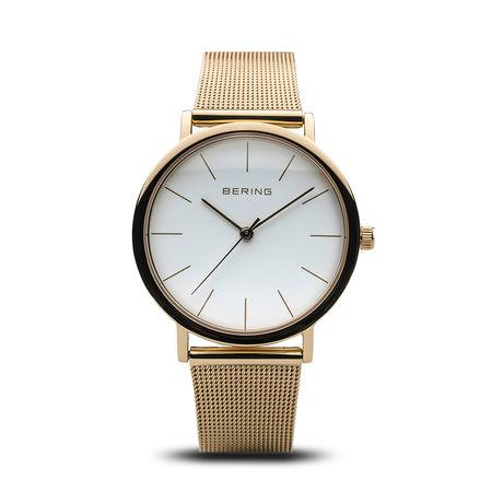 Bering  Uhr - Watch Classic Women - in gold - für Damen grau