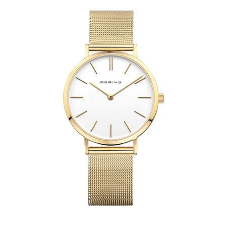 Bering  Uhr - Watch Classic Women - in gold - für Damen orange