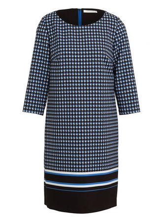 Betty & Co Betty&Co Kleid blau grau