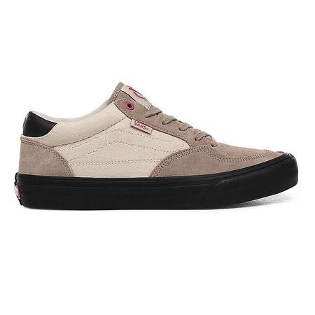 Vans  Rowan Zorilla Pro Schuhe (desert Taupe/black) Damen Braun, Größe 34.5 schwarz