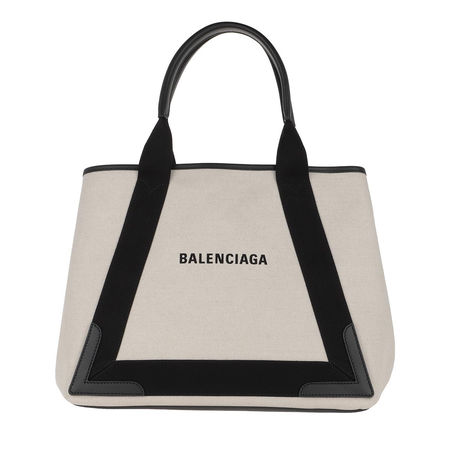 Balenciaga  Tote  -  Canvas Tote Bag Natural/Black  - in beige  -  Tote für Damen braun