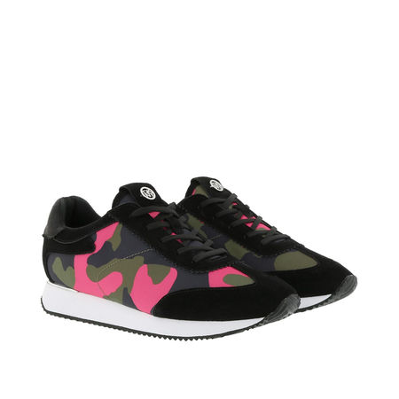 DKNY  Sneakers  -  Arlie Slip On Sneaker Fuchsia/Black  - in bunt  -  Sneakers für Damen schwarz