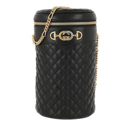 Gucci  Beuteltasche  -  Belt Bag Quilted Leather Black/Black  - in schwarz  -  Beuteltasche für Damen schwarz