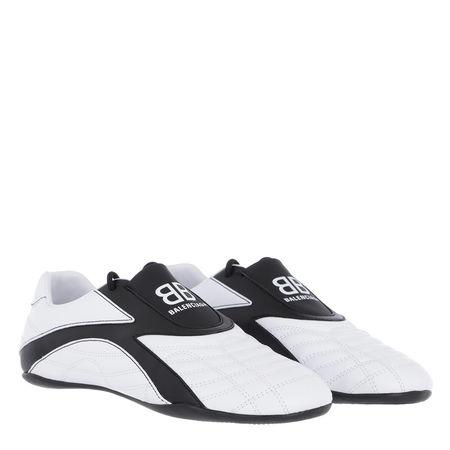 Balenciaga  Sneakers  -  Zen Sneakers Leather White/Black  - in weiß  -  Sneakers für Damen