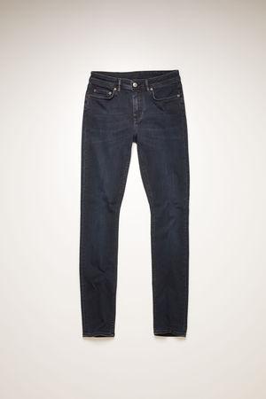 Acne Studios  Climb Blue Black Blue/black Skinny fit jeans braun
