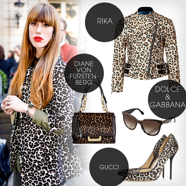 Leoparden Look
