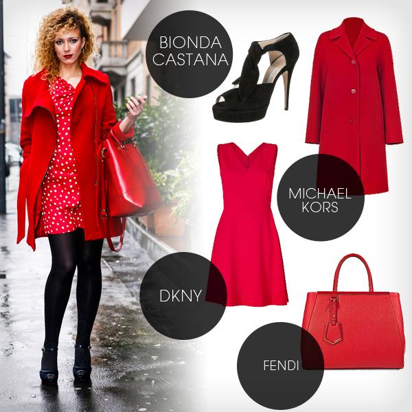 428c025b046a42 Rotes kleid mit schwarz kombinieren – Modische Damenkleider
