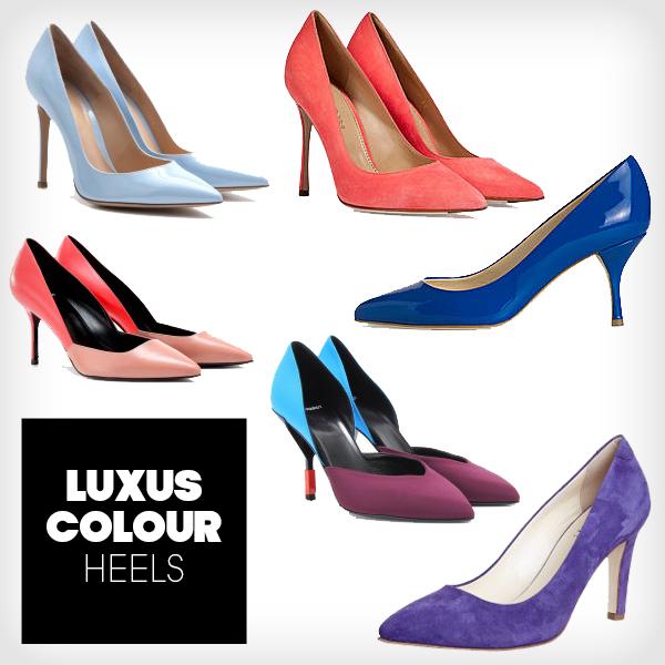 Luxus Colour Pumps