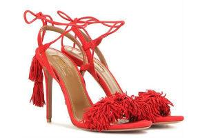 Aquazurra Sandaletten als Trend-Schuh