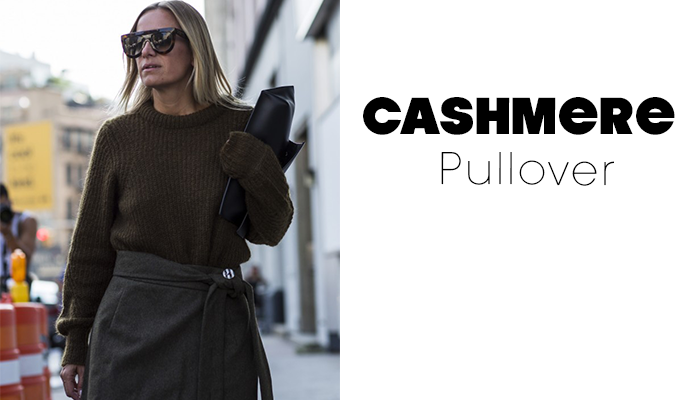 Streetstyle Caschmere Pullover