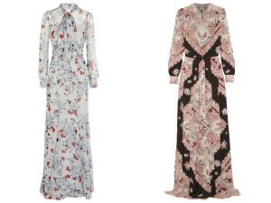 Kleider von Vilshenko und Erdem